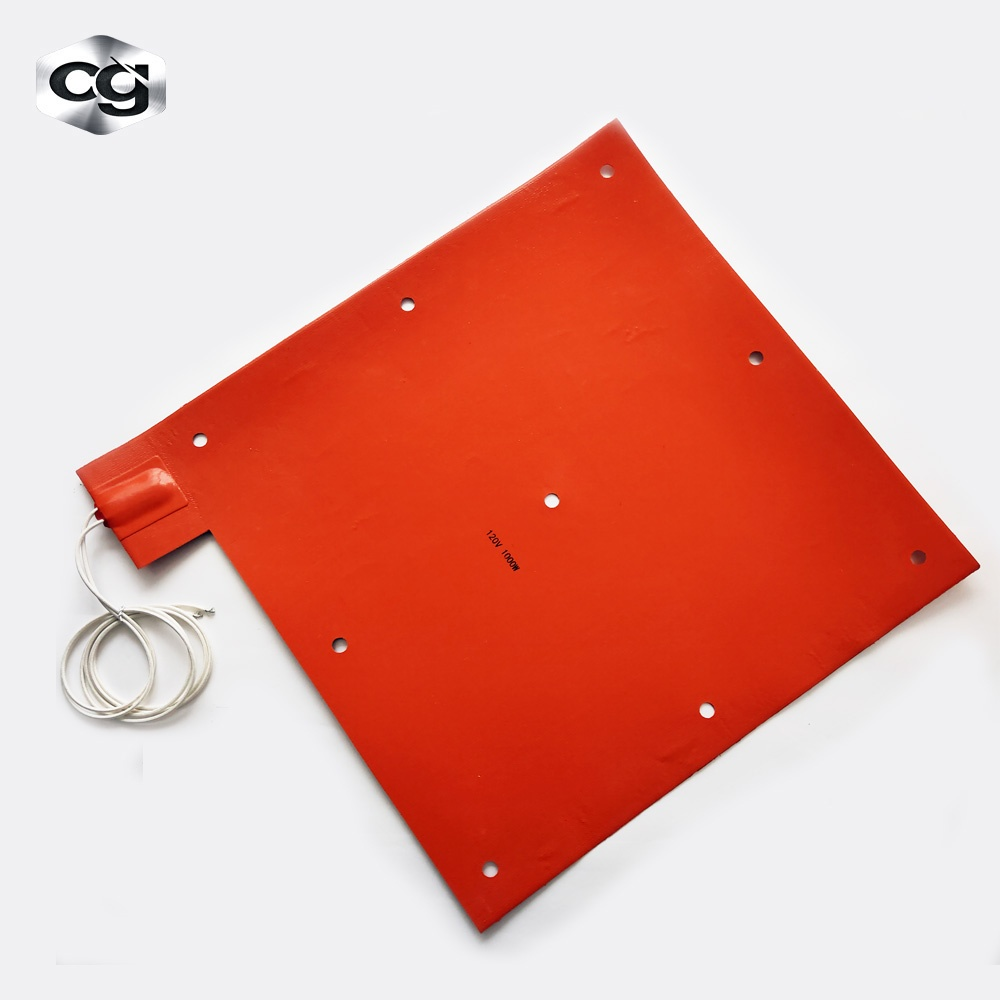 Pad For Heat Press Machine 12v 110v 120v 230v 3d Printer Silicone Rubber Heater