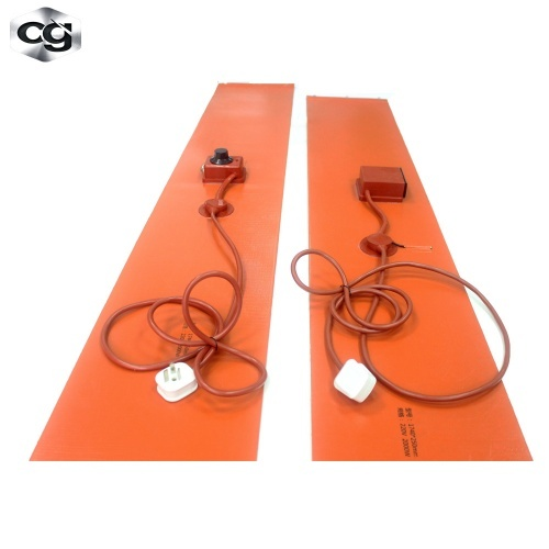 silicone rubber heating blanket with temperature controller