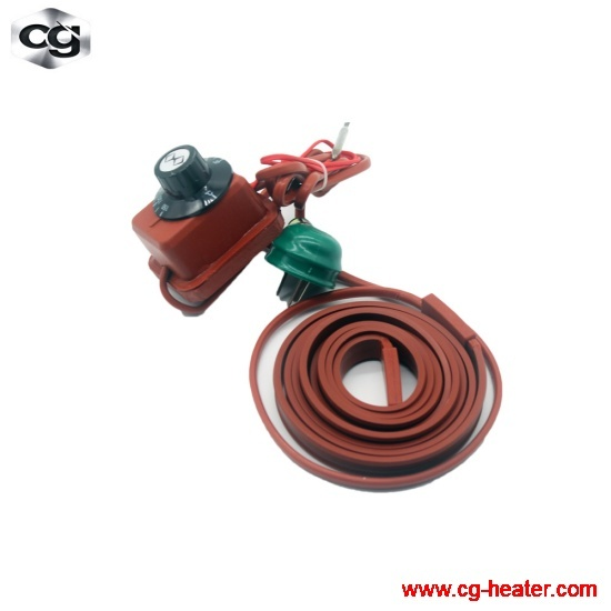 Silicone heating strip/belt/ribbon/tape for conduit/pipeline