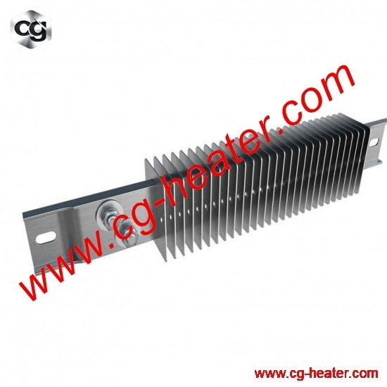 240v 750w Ceramic Insulated Finned Channel Strip Heater