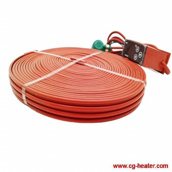 Industrial Electric Flexible Silicone Rubber Heat Belt