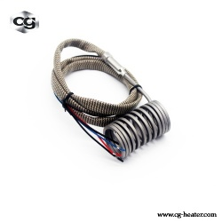 Electric Heating Spring Hot Runner Coil Heaters