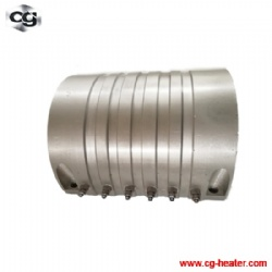 Aluminum band cast-in heater