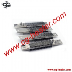 Ceramic Strip Heater with Air Cooling Fins